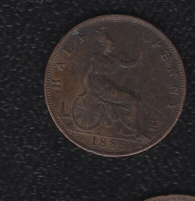 Great Britain Half Penny 1885