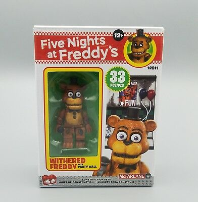 Five Nights At Freddy's Withered Freddy With Party Wall 33 PCS (NEW)