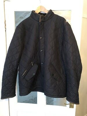 mens barbour quilted jacket xxl