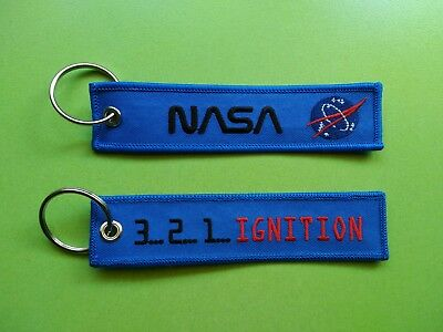 Llavero NASA - REMOVE BEFORE FLIGHT - KEYCHAIN - AVION