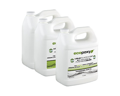 ECOPOXY 2:1 Ratio Liquid Plastic Kit 12L Must Have for River Table
