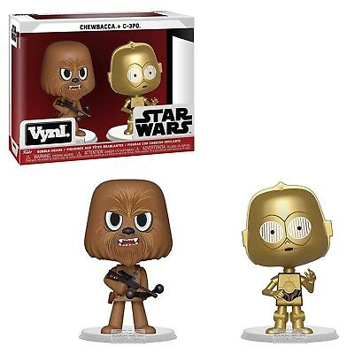 Funko Star Wars Vynl Chewbacca C-3PO Figure Set NEW IN STOCK