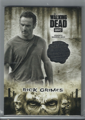 2018 Walking Dead Hunters & The Hunted Rick Grimes Costume Relic