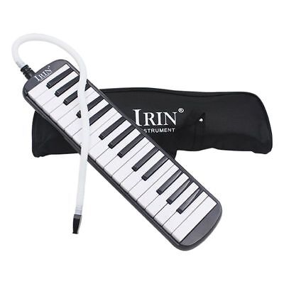 IRIN 1 set 32 Key Piano Style Melodica With Box Organ Accordion Mouth Piece D4Q5