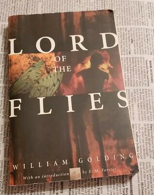 LORD OF THE RINGS WILLIAM GOLDING Paperback book