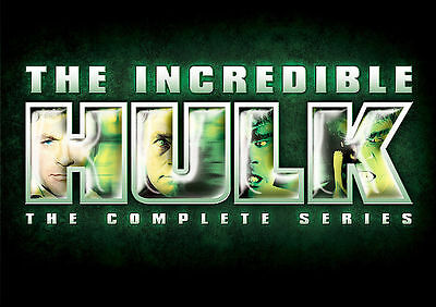 The Incredible Hulk - The Complete Series (DVD, 2008, 20-Disc Set) READ DESC.