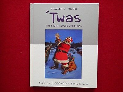 CLEMENT C. MOORE 'TWAS THE NIGHT BEFORE CHRISTMAS, Coca-Cola Santa Hallmark 2001