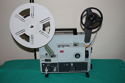 SUPER 8mm MOVIE PROJECTOR  ELMO ST-1200  MAGNETIC & OPTICAL SOUND 150w  SERVICED