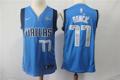 0ee0bb43 NWT DALLAS MAVERICKS Luka Doncic #77 mens jersey S-2XL - $41.99 ...