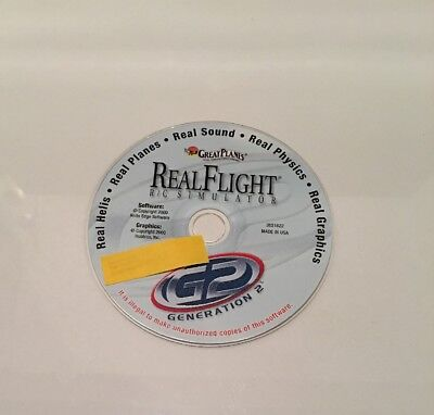 REAL FLIGHT R/C FLIGHT SIMULATOR ---GREAT PLANES Company Software Only