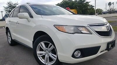 2013 Acura RDX LEATHER 2013 ACURA RDX LEATHER SUNROOF WHITE  66K MILES RUNS GREAT NO ISSUES BEST OFFER