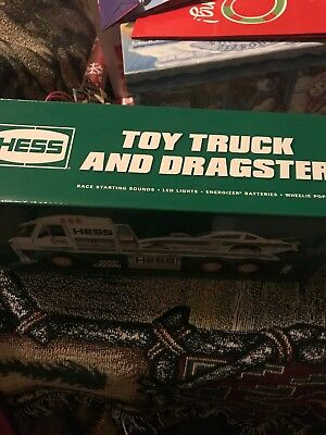 2016 Hess Toy Truck and Dragster - Brand New!
