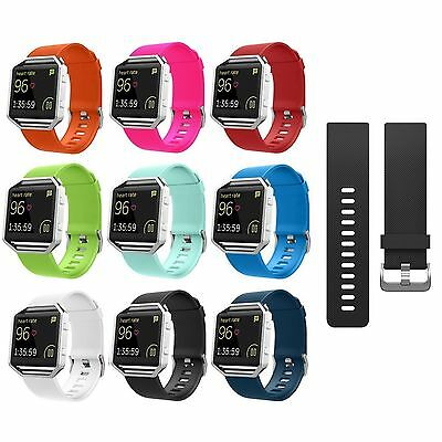 Replacement Silicone Rubber Band Strap Wristband Bracelet Fitbit Blaze Lots Hot