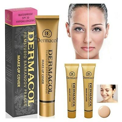 Dermacol High Cover Make-up Foundation Waterproof Genuine
