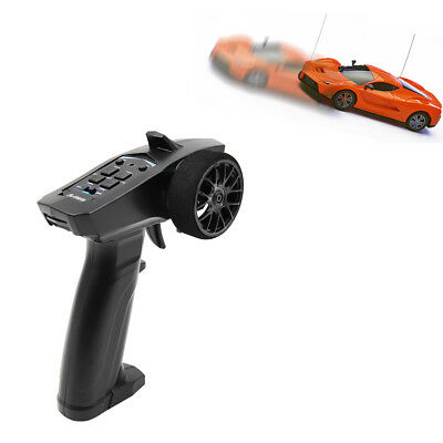 2.4GHz 3CH Digital Radio Remote Control Transmitter Receiver for RC Car Boat CLF