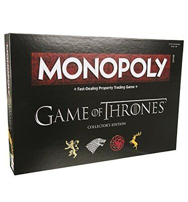 Monopoly Game of Thrones Board Game Game Party Card Games Cards MELBOURNE STOCK