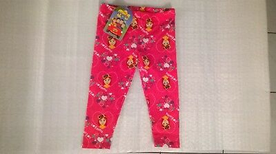 Wiggles / Emma / Leggings / Girls / Sizes 3 And 4.