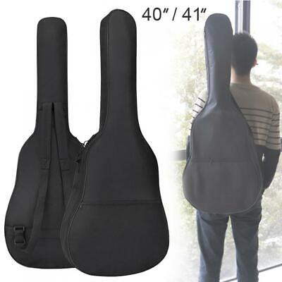 40/41 Inch Oxford Fabric Guitar Case Gig Bag Double Straps Padded 5mm Cotton