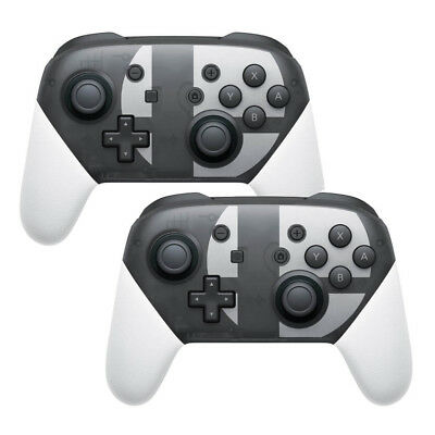 2x Controller wireless Pro Controller per Nintendo Switch Super Smash Bros.