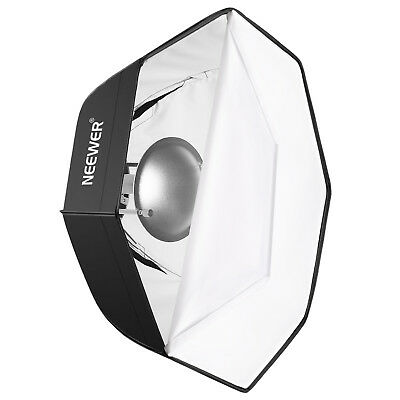 """Neewer Photo Studio 24"""" Beauty Dish and Octagonal Softbox with Bowens Speedring"""