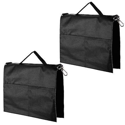 Neewer 2 Packs Black Water Bag with 4 Outer Pouches for Light Stands Tripod