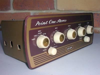 Leak Point One Stereo  Valve Pre-Amplifier Excellent Condition-