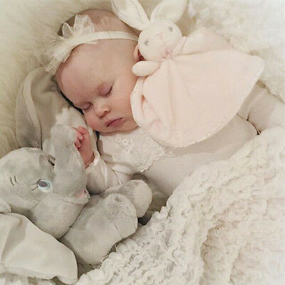 Security Blanket Infant Appease Towel Play Animal Doll Baby Toddler Comforter YI
