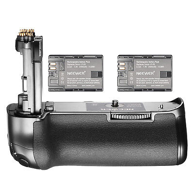 Neewer Battery Grip and 2000mAh Battery Kit for Canon EOS 5D Mark IV DSLR Camera