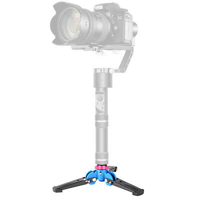 """Neewer Foldable Tripod Monopod Stand Base Three Feet Support with 1/4"""" Screw"""