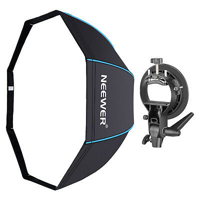 """Neewer 48"""" Octagonal Softbox & S-Type Bracket Holder with Bowens Mount for Flash"""