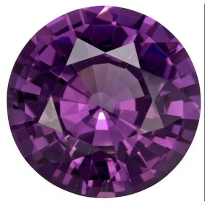 4mm round shaped synthetic purple color spinel gemstone ** Lot no. MD651