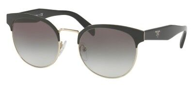Sonnenbrille PRADA MADE IN ITALY SPR61T 1AB-0A7 54 Black Pale Gold Grey