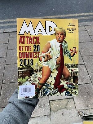 Mad Magazine Issue 5 Feb 2019 Attack Of The 20 Dumbest People Events Things 2018