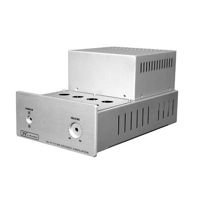 DIY Aluminum Chassis Enclosure for HiFi Stereo Tube Amplifier Power Amp Case