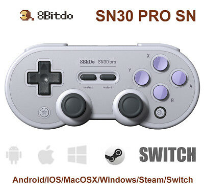8BITDO SN30 PRO Wireless Bluetooth Controller Gamepad for Android