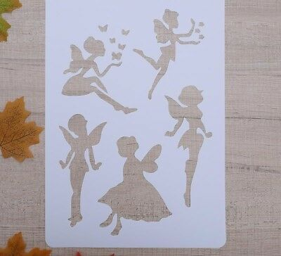 Stencils Layering Craft Plastic Template For Wall Painting Album Decor Embossing