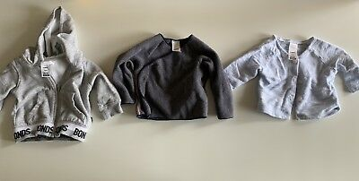 Bonds Baby Cardigans And Hoodie (3-6 Months 00)