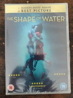 The Shape Of Water DVD Sealed/New