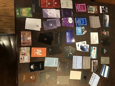 120 Hotel Key Room Cards Ritz Marriott +More