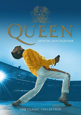 Queen 2019 A3 Calendar, Official merchandise - FREE FAST P&P!