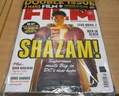 Total Film magazine Jan 201 Shazam! Armie Hammer + 148 page Sci-Fi Mag & more