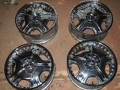 Chrome mags 18 x 7.5 Ford / Holden Pattern Falcon commodore hilux
