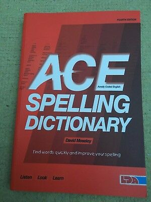 ACE Spelling Dictionary by David Moseley (Paperback, 2012) Fourth Edition