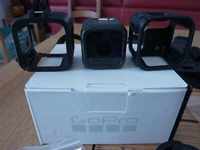 gopro hero 5 session  4k camera action noire + accessoires