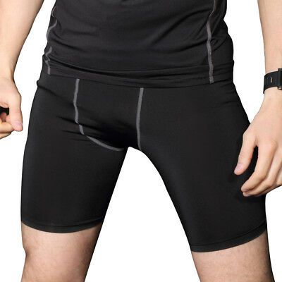 Men's Compression Shorts Sport Cool Dry Tights Base Layer Skin Quick Dry