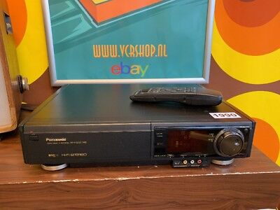 Panasonic NV-FS200 S-VHS Super 4 Head - TBC 'Time Base Corrector' + Remote