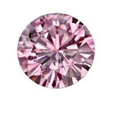 1mm Top Clean Round Shaped Pink Zirconia from Sri Lanka RU****