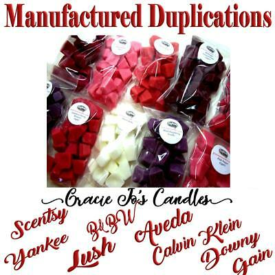 POPULAR MANUFACTURED DUPES 40 pc Wax Tarts Melts 8 oz Mini Chunks Chips Crumbles