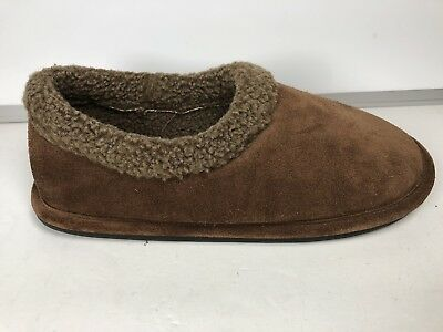 Woolrich Mens Brown Suede Slippers Size 10.5 43 EU