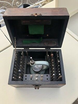 vintage watchmakers tools Staking Set And Anvil